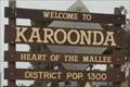 Image for Karoonda, SA, Australia - Population 1300