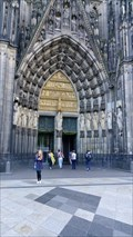 Image for Doorways at Cologne Cathedral, Cologne, North Rhine-Westphalia, Germany