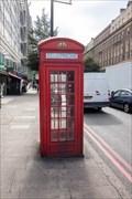 Image for Red Telephone Box - Edgware Road, London, UK
