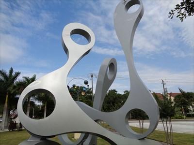 Trilogy - Sculpture Garden - Sarasota.