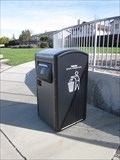 Image for Plomosa Park Solar Panel Trash Can - Fremont, CA
