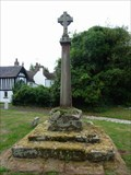 Image for Cross, St. Mary's, Stone, Worcestershire, England