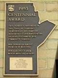 Image for MHM 1983  Centennial Award -  Carberry MB