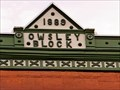 Image for 1889 - Owsley Block - Butte, MT