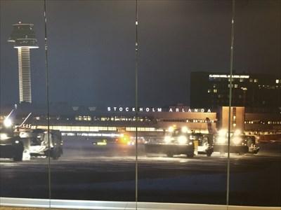 Arlanda at Night, Stockholm, Sweden