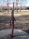 Image for Hand-Operated Water Pump at Clio Church/Community Building near Eagle Rock, MO