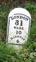 Image for Milestone - B3168 Cambridge Road, Hare Street, Hertfordshire, UK.
