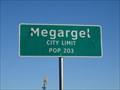 Image for Megargel, TX - Population 203