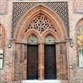 Image for Altstadt Rathaus Back Door - Brandenburg, Germany