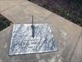 Image for Memorial Sundial - New Braunfels, TX