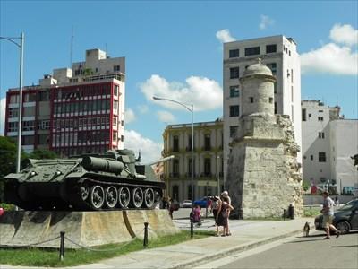 SU-100 Tank Destroyer - Havana, Cuba