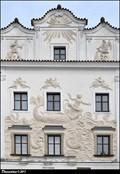 """Image for Reliefs on House """"At Jonah"""" / Reliéfy na dome U Jonáše - Pardubice (East Bohemia)"""