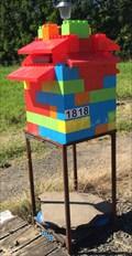 Image for Giant Lego mailbox - Coroglen, New Zealand