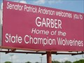 Image for Senator Anderson's Welcome - Garber, OK