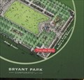Image for Bryant Park Map (42nd Street) - New York, NY