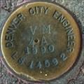 Image for Denver City Engineer LS 14591 VM 4A 1990 Disk - Denver, CO