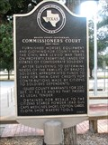 Image for Brazos County Confederate Commissioners Court