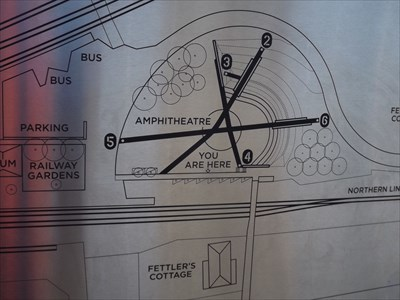 Close up of the Amphitheatre part of the map. 0848, Sunday, 19 May, 2019
