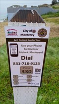 Image for City of Monterey phone tour - Monterey, CA