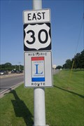 Image for Lincoln Highway Marker  -  Joliet, IL
