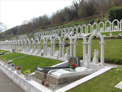 You Are Here - Aberfan - Wales.