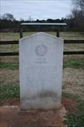 Image for El Camino Real de los Tejas-- Site of Linwood, SH 21 east of Alto TX