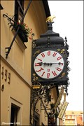"Image for Clock at ""U Fleku"" brewery / Hodiny pivovaru ""U Fleku"" (Prague)"
