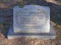 Image for 101 - Mary Montgomery - Coker Cemetery - Bulcher, TX