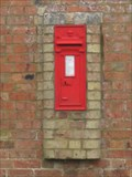 Image for Victorian Post Box - Luddington in the Brook, Northamptonshire, UK