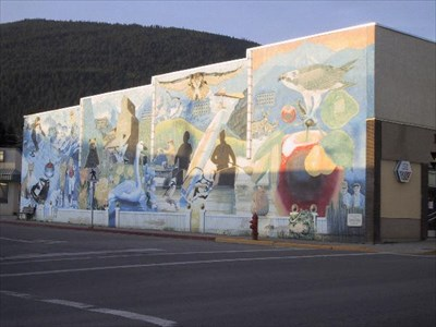 Four seasons of the creston valley creston british for 4 seasons mural
