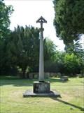 Image for Crucifix Wayside Shrine -- All Saints Church, Linconshire, Swinderby, UK
