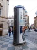Image for Moderní reklamní sloup - Malostranské námestí - Praha, CZ