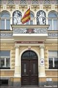 Image for Milevsko - municipal flag at Town Hall / Milevsko - mestská vlajka na radnici (South Bohemia)