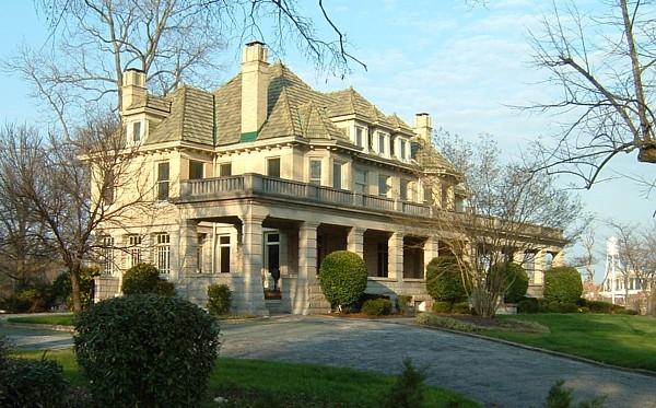 Greystone Mansion, Durham, North Carolina - Photos Then and Now on ...