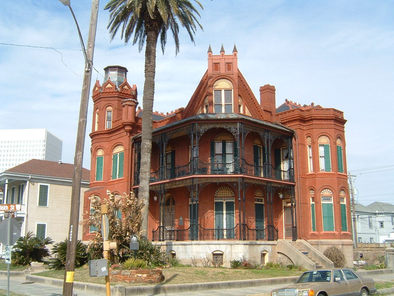 Henry a landes house galveston texas victorian for The texas house