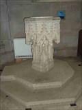 Image for Stone Font, St. Leonard's, Charlecote, Warwickshire, England