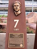 Image for John Elway, Ring of Fame Plaza, Mile High Stadium - Denver, CO
