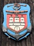 Image for Hamburg-Wappen mit Anker am Eichbaumsee - Hamburg, Germany