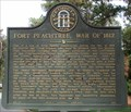 Image for Fort Peachtree, War of 1812 - GHM 060-194 – Fulton Co., GA