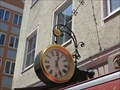 Image for Signboard clock Orlandostrasse 1 - München, Germany