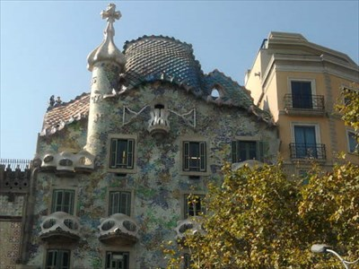 veritas vita visited Casa Batlló