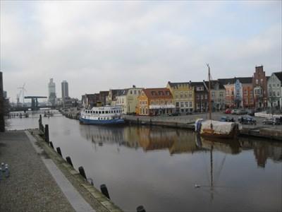 Aussicht am Husumer Hafen