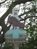 Image for Little  & Great  Eversden -  Village sign  - Cambridgeshire