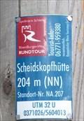Image for Wegweiser an der Scheidskopfhütte - Remagen - RLP - Germany - 204m
