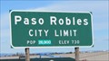 Image for Paso Robles, CA -  730 Ft