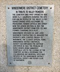Image for A Tribute to Valley Pioneers - Windermere, British Columbia