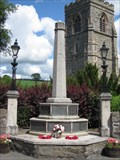 Image for WW1&2 Monument, Broad Street, Llanfair Caereinion, Powys, Wales, UK