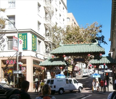 Chinatown arch - San Francisco