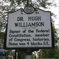 Image for Dr. Hugh Williamson, Marker A-34