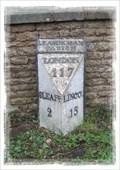 Image for Milestone - Captains Hill, Leasingham, Lincolnshire.
